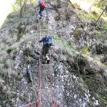 2 Day Private Tour – Transfagarasan Highway and Hiking in Fagaras Mountains - Trekking on the ladders from Stan's Gorge
