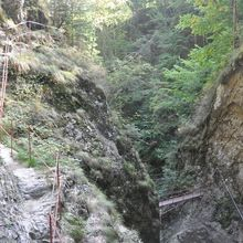 2 Day Private Tour – Transfagarasan Highway and Hiking in Fagaras Mountains - Hiking on the ladders from Stan's Gorge
