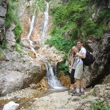 Active trekking tour in Bucegi Natural Park and Piatra Craiului National Park - 4 days - Evil waterfall