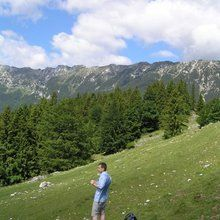 Small-Group Active trekking tour in National Park Piatra Craiului - 1 day - James