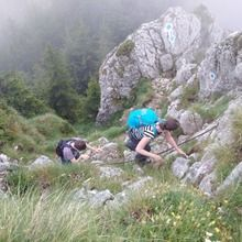 Private Active trekking tour in Piatra Craiului National Park  - 1 day - Hiking to the main ridge
