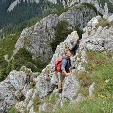Active trekking tour in National Park Piatra Craiului - 1 day - To the main ridge