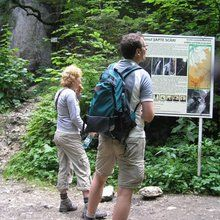 Active trekking tour in Piatra Mare Massif - 1 day - Main entrance