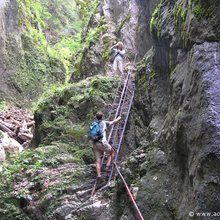 Active trekking tour in Piatra Mare Massif - 1 day - 7 Ladders Canyon
