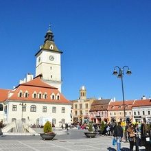 City break in Brasov - probably the best city in Romania!  - Piata Sfatului Square