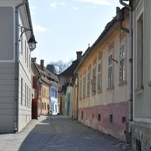 Small-Group Day tour Medieval Sighisoara, Viscri, Rupea Fortress - Sighisoara - street