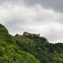 Small-Group Day tour Transfagarasan road and Poienari Fortress - Poienari Fortress - general view