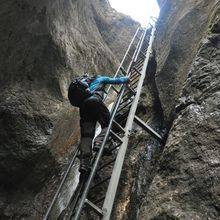 Day Trip to the Epic 7 Ladders Canyon from Brasov - The highest ladder