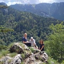 Day Trip to the Epic 7 Ladders Canyon from Brasov - Bellevue Point - 1200 m