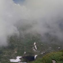 Private Expeditions in Fagaras Mountains - the highest mountains of Romania - Glacial lake in Fagaras Mountains