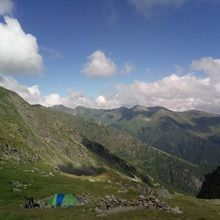 Private Expeditions in Fagaras Mountains - the highest mountains of Romania - Camping in Fagaras Mountains
