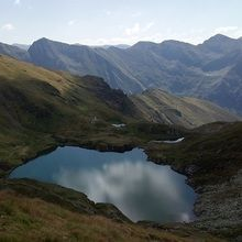 Private Expeditions in Fagaras Mountains - the highest mountains of Romania - Capra glacial lake in Fagaras Mountains