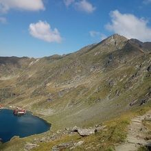 Private Expeditions in Fagaras Mountains - the highest mountains of Romania - Balea glacial lake from Fagaras Mountains