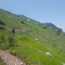 Balkan Glacial lakes and Mountains tour - 15 Days - Climbing up the grasslands of Tymfi mountain, Greece
