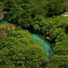 Balkan Glacial lakes and Mountains tour - 15 Days - Voidomatis river in Vikos gorge, Greece