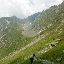 Balkan Glacial lakes and Mountains tour - 15 Days - On the way to Podragu mountain hut, Romania