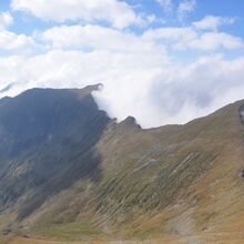 Balkan Glacial lakes and Mountains tour - 15 Days - Fagaras mountains, view from Vistea peak, Romania