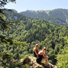 The '3C Tour' - Castle, Champagne and Canyon - Piatra Mare mountain - Bellevue Point - 1200 m
