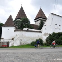 The Heritage of Transylvania cycling tour - 8 days - Fortified church