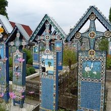 Highlights of Romania Private Tour - Transylvania, Maramures and Bucovina - 12 days round trip - Sapanta cemetery