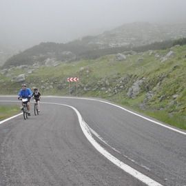 Active mountainbike tour in Fagaras Mountains - 1 day