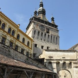 Small-Group Day tour Medieval Sighisoara, Viscri, Rupea Fortress - Sighisoara - Clock Tower