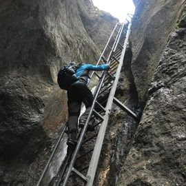 Day Trip to the Epic 7 Ladders Canyon from Brasov