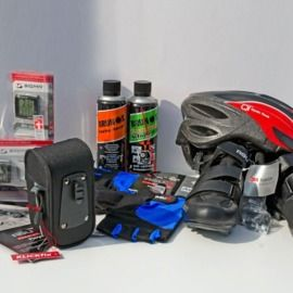 Equipment - necessary and recommended items for cycling